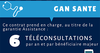 GAN ASSURANCES REMIREMONT COURTINE - 6 Téléconsultations incluse dans le contrat