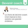 Analyse et Action - Paris 15ème - Devenir coach : témoignage de Patricia Lavenant