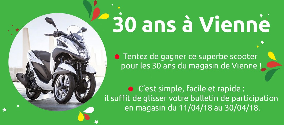 Vienne 30 ans scooter