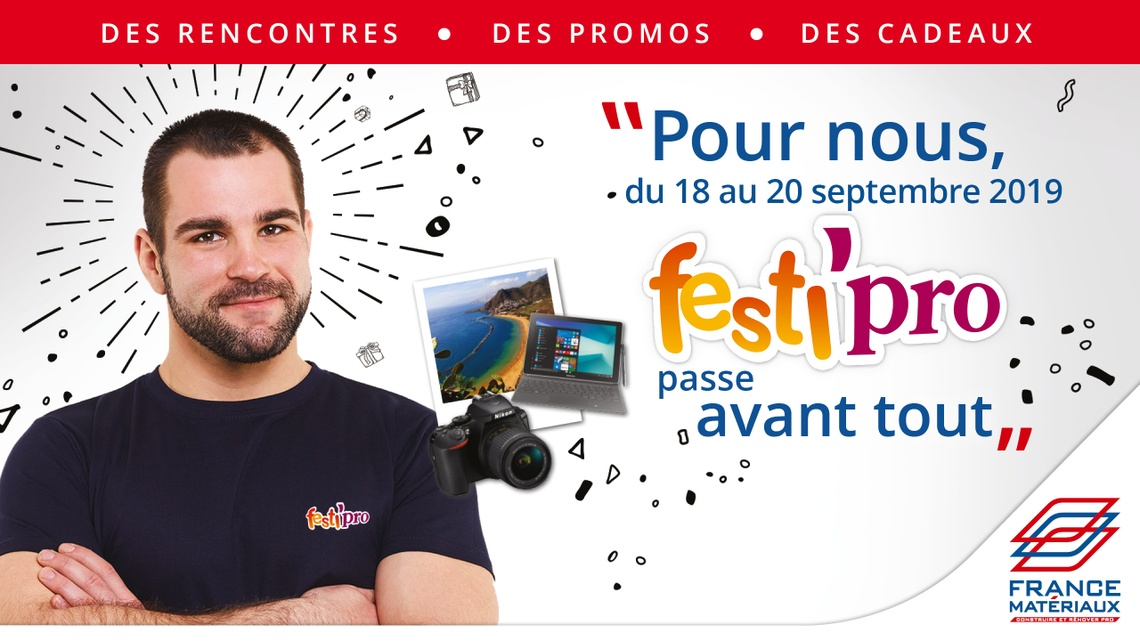 FRANCE MATERIAUX SO.SA.CA - FESTI PRO 2019