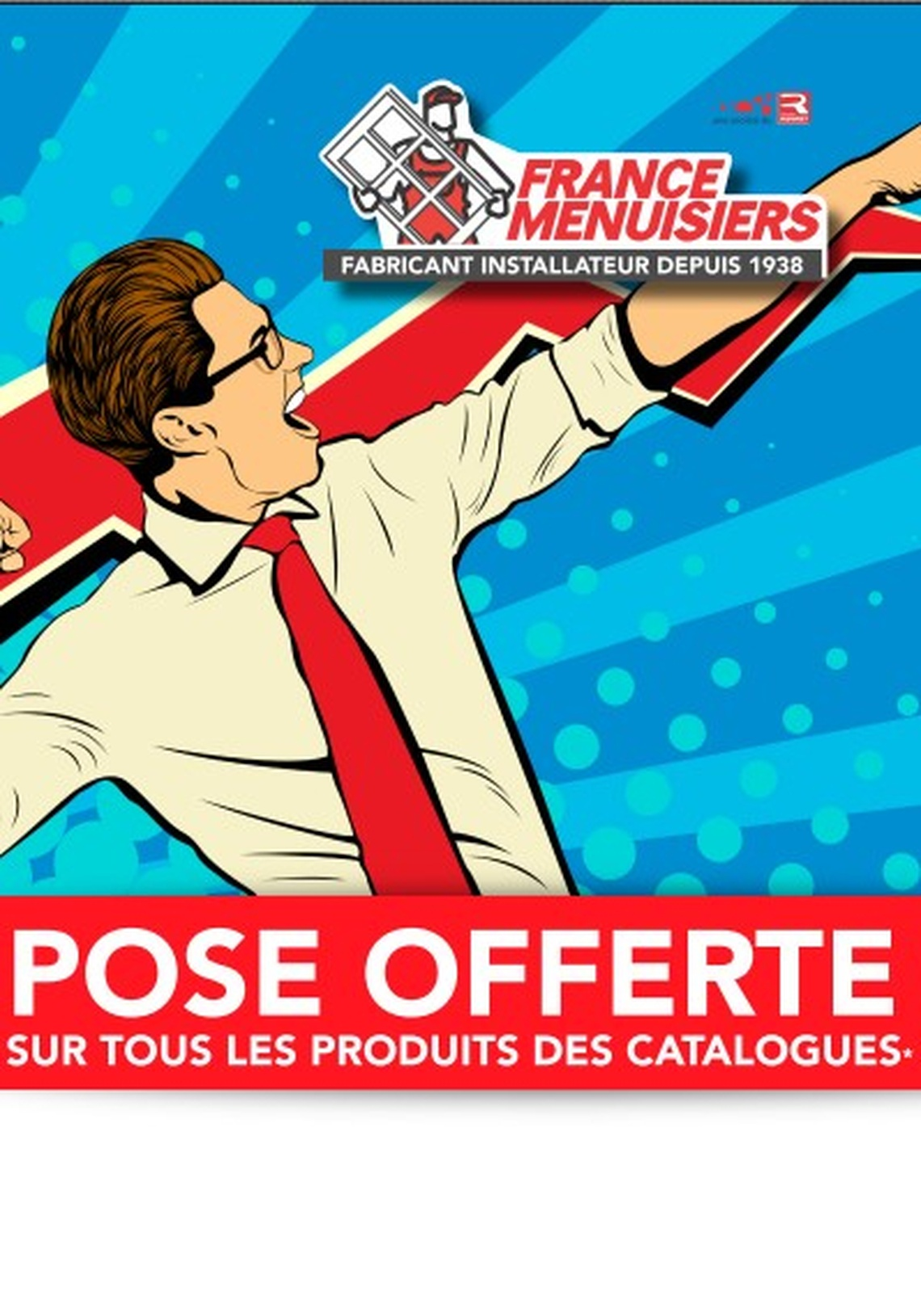 FRANCE MENUISIERS LA ROCHELLE MAGASIN D'USINE - POSE OFFERTE