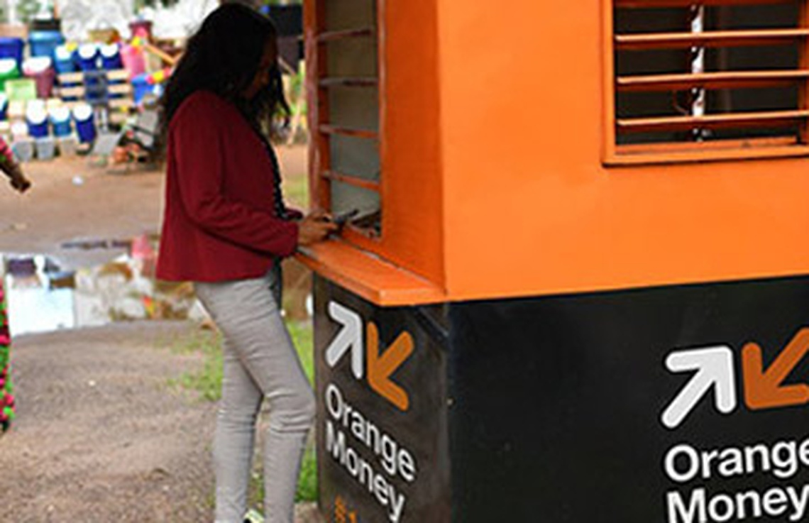 Guichet automatique Orange Money - Agence Orange Korhogo - Les services d'Orange Money