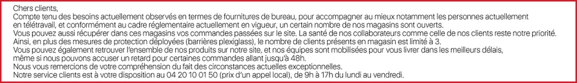 Office DEPOT Grenoble - ouverture magasins