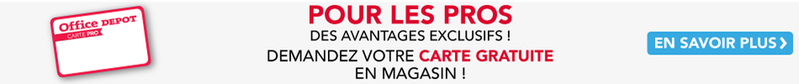 Office DEPOT Saint Nazaire - Bannière News_Carte pro OD