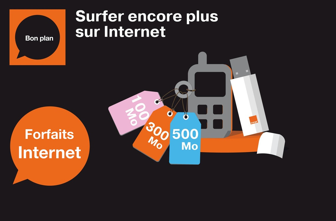 Agence Orange Bamako - ACI 2000 - Forfaits internet