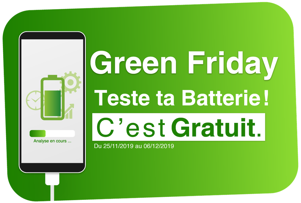Point Service Mobiles chez Auchan Mériadeck - Green is the new black !