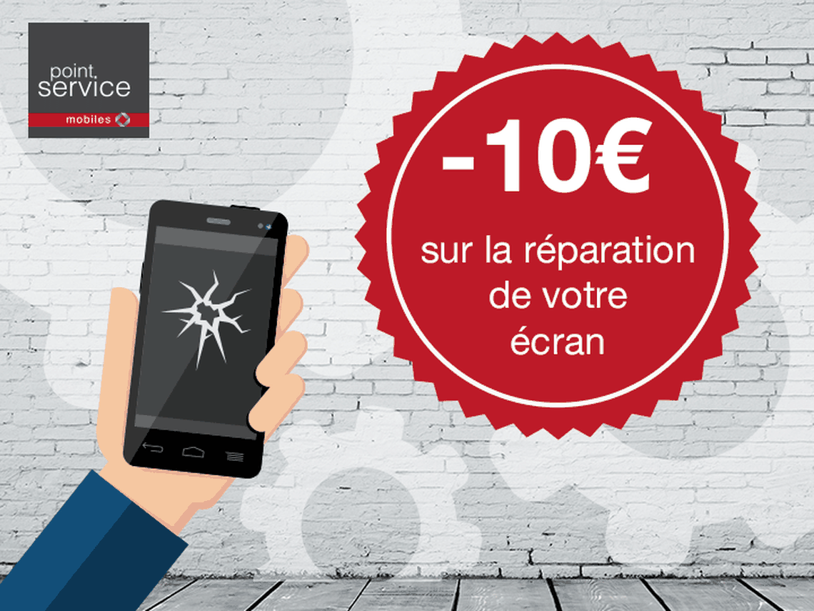 Point Service Mobiles Paris Etoile - Profitez de 10€ de réduction !