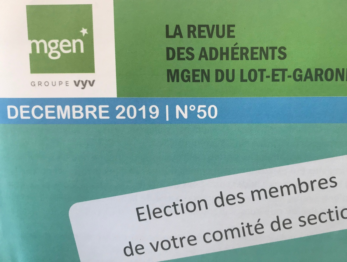 Section MGEN du Lot-et-Garonne - Bulletin départemental