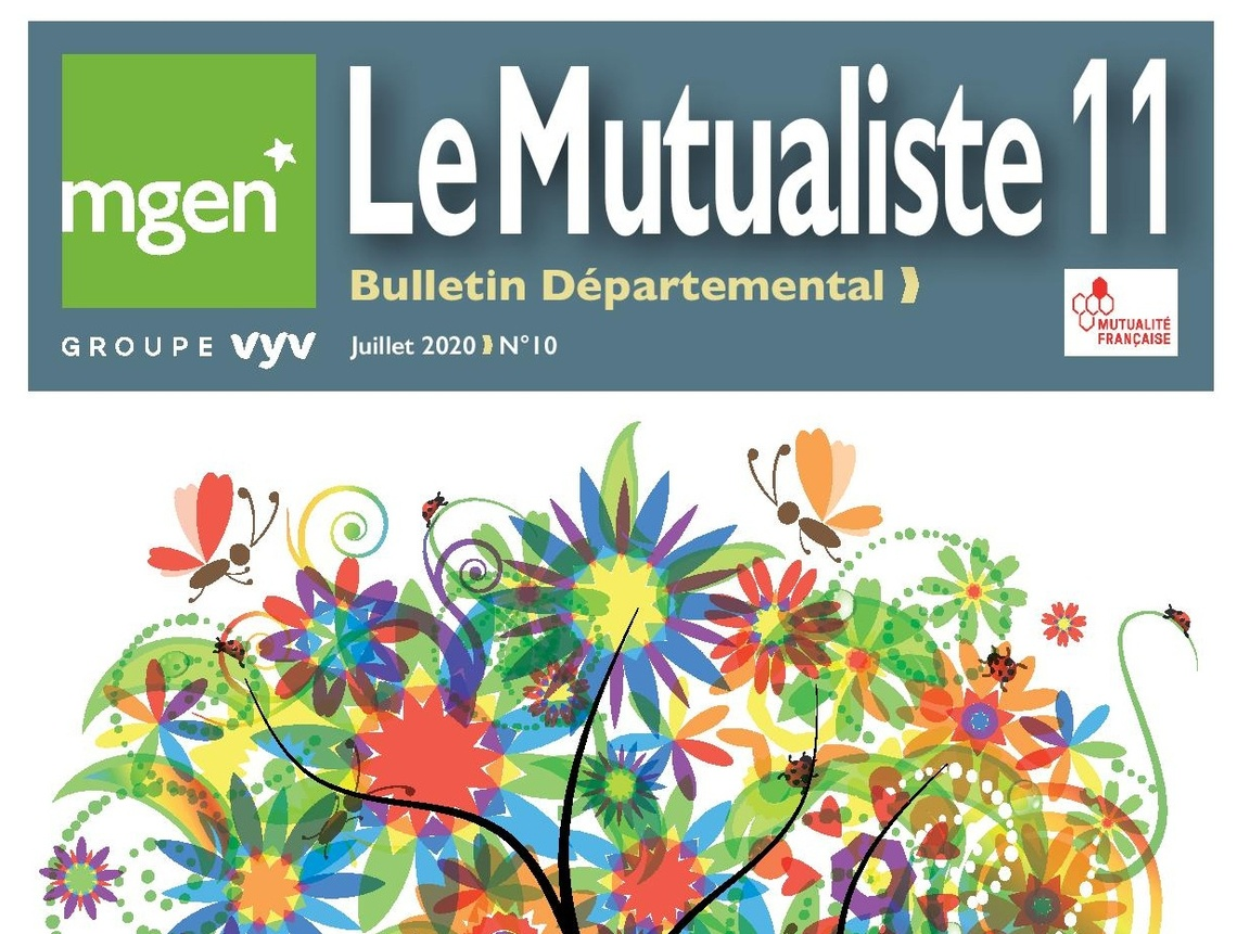Section MGEN de l'Aude - Le Mutualiste 11 n°10 est disponible !