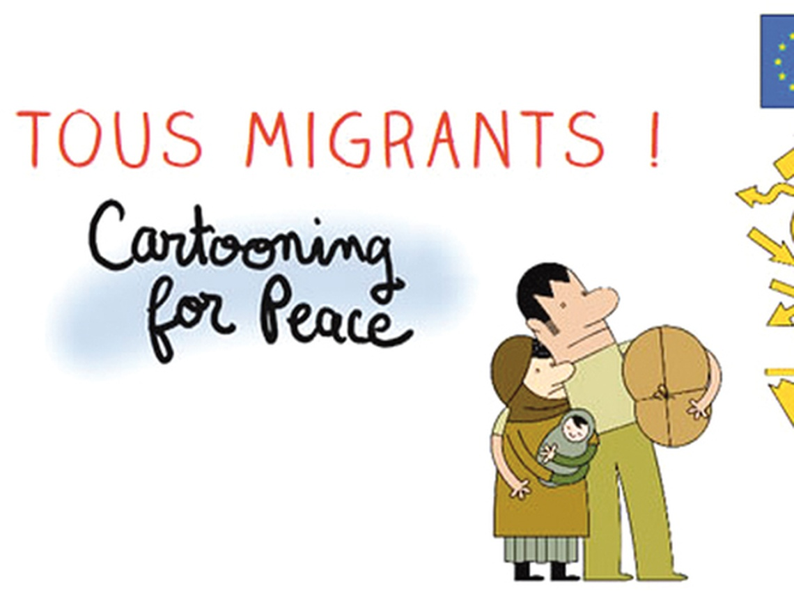Section MGEN du Cher - Cartooning for peace : exposition Tous migrants !