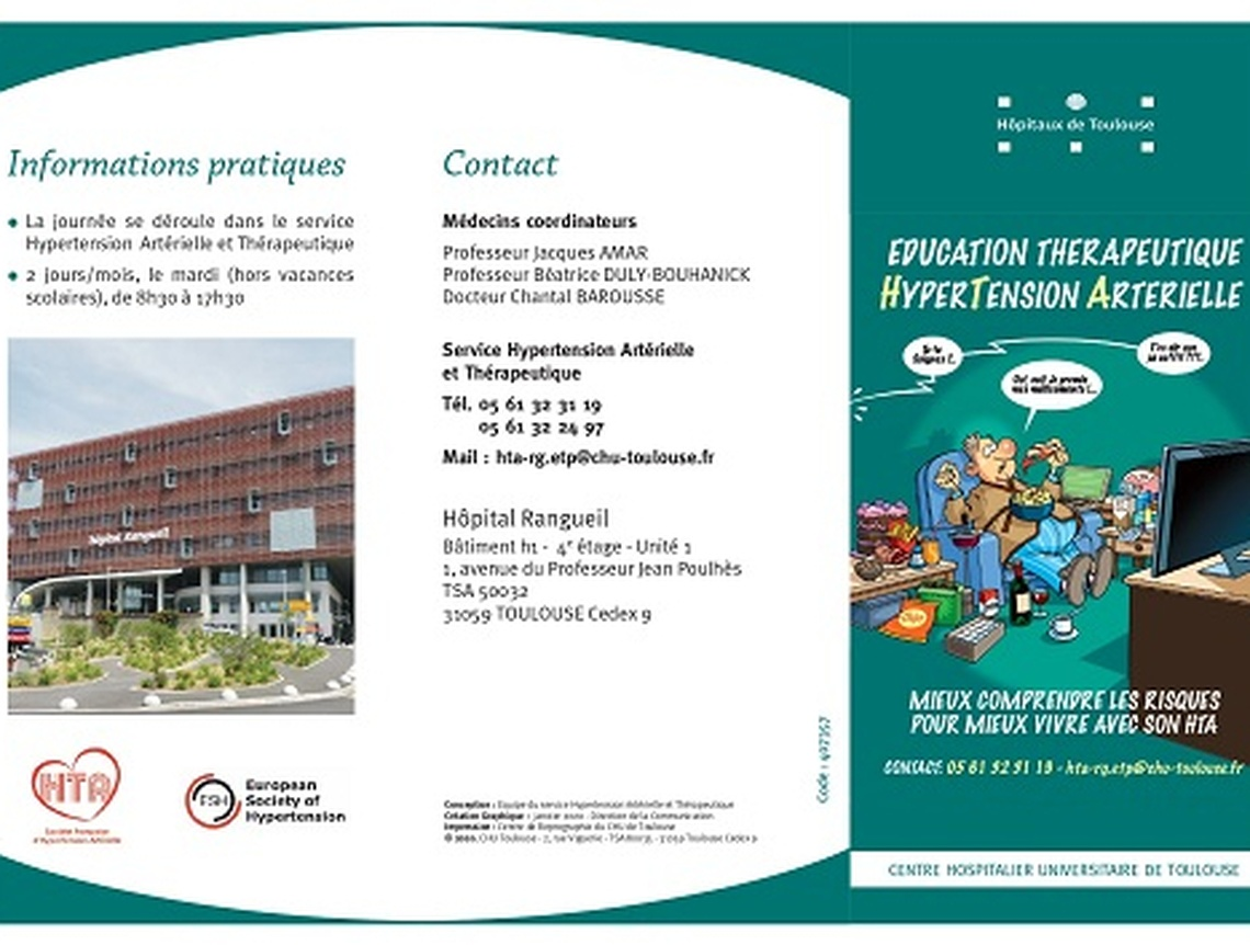 Section MGEN de la Haute-Garonne - EDUCATION THERAPEUTIQUE HYPERTENSION ARTERIELLE