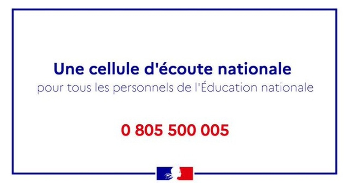 Section MGEN d'Indre-et-Loire - [Attentat] Dispositif d'écoute et de soutien MGEN / Education nationale