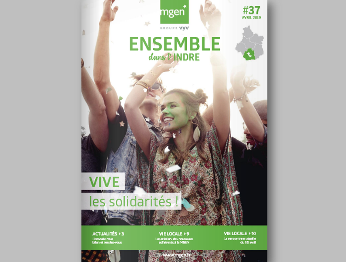 Section MGEN de l'Indre - Bulletin départemental