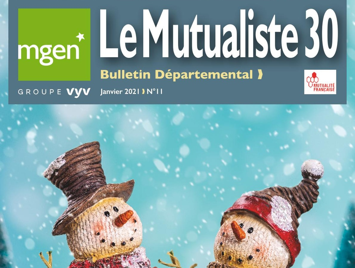 Section MGEN du Gard - Le Mutualiste 30 n°11 est disponible !