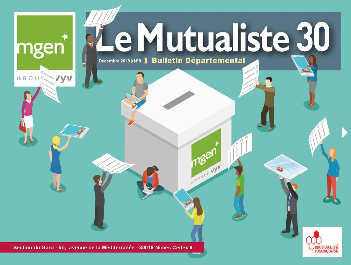 Section MGEN du Gard - Le Mutualiste 30 n°9 est disponible !