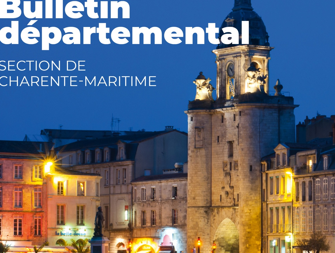 Section MGEN Charente-Maritime - Bulletin départemental 2019