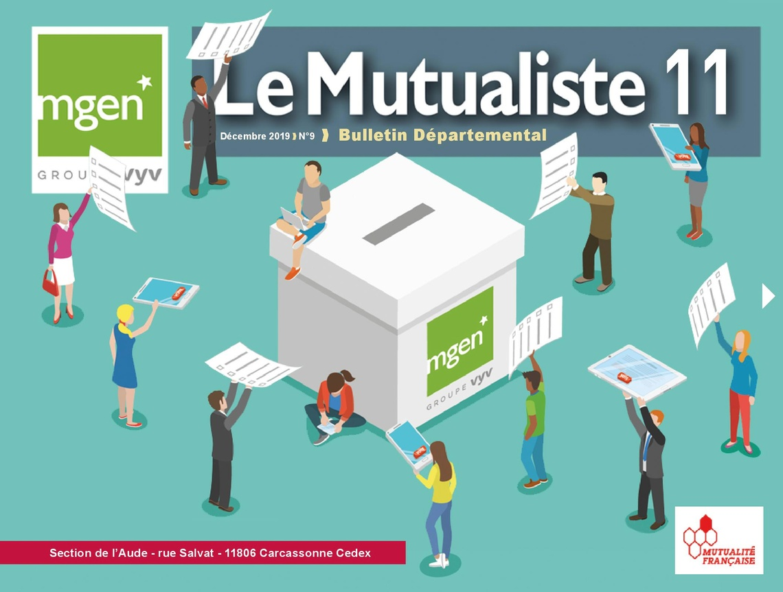 Section MGEN de l'Aude - Le Mutualiste 11 n°9 est disponible !