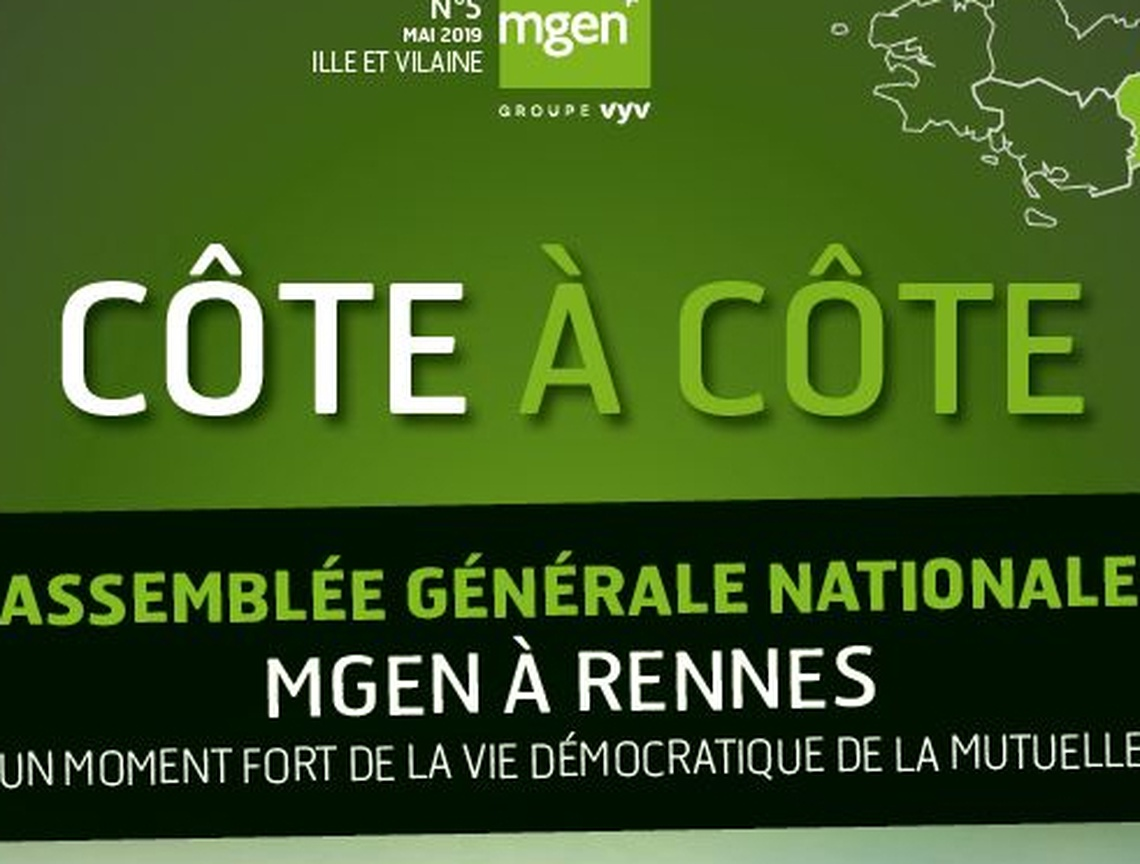 Section MGEN d'Ille-et-Vilaine - le bulletin régional d'avril 2019
