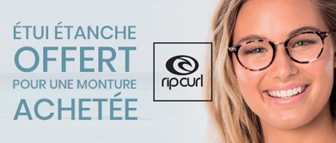 Opticien GrandOptical Parinor - Collection de Lunettes Rip Curl