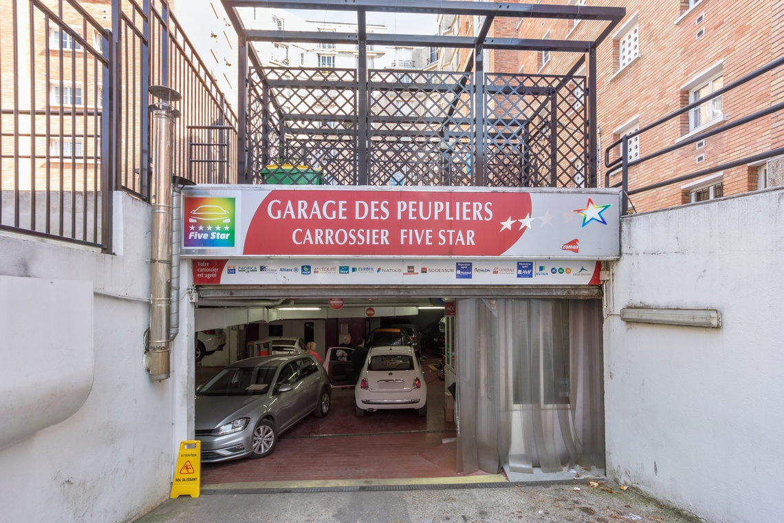 GARAGE DES PEUPLIERS
