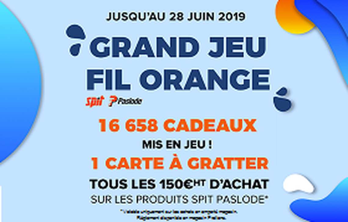 Prolians | Baurès | Perpignan - GRAND JEU FIL ORANGE
