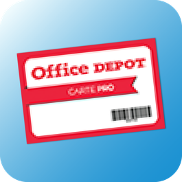 Office DEPOT Limoges - Carte Office DEPOT