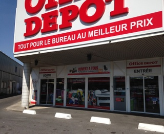 Magasin office depot paris nord 2 gonesse fournitures mobiliers de bureau papeterie - Office depot montpellier horaire ...