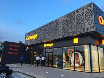 Guichet automatique Orange Money - Agence Orange SMART STORE ENA