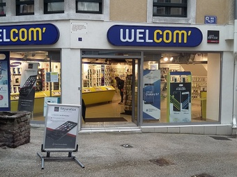Shop in shop Point Service Mobiles Welcom Aurillac