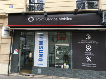 Point Service Mobiles Paris Montparnasse