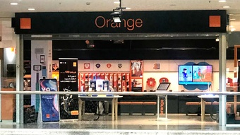 Orange store Mecca Mall