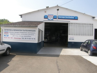 Garage Serthelon Guéreins