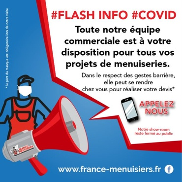 France Menuisiers - Covid 19