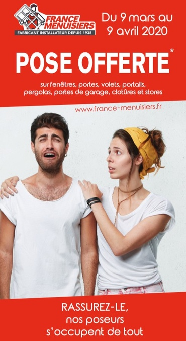 FRANCE MENUISIERS  BORDEAUX - EYSINES - POSE OFFERTE