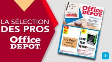Office DEPOT Nancy - Actualité_Flyer ONSERT F12 JURIDIQUE