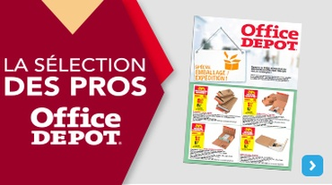 Office DEPOT OUTLET - Actualité_F12 Onsert Emballage Expédition