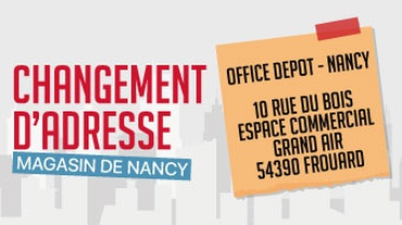 Office Depot - Actualité_Déménagement Nancy