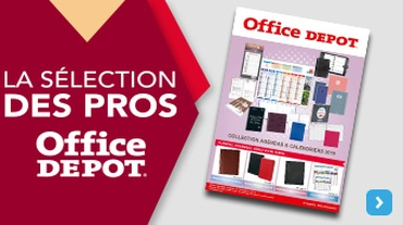 Office DEPOT Paris 19ème Jaurès - Actualité_Catalogue Agendas 2018