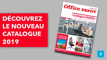 Office DEPOT Paris 13ème Italie - Actualité_Catalogue Mobilier 2019