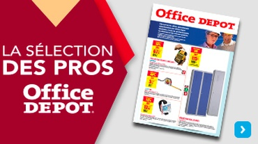 Office DEPOT Paris 18ème Ornano - Actualité_Flyer ONSERT F10 BTP