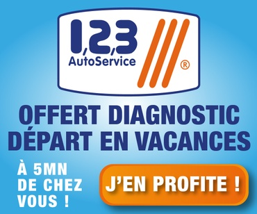 Garage AUTO'SERVICES - Promotion été 2018 - Diagnostic offert