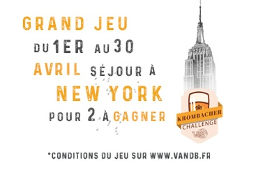 V and B Grenoble - Partez direction New-York