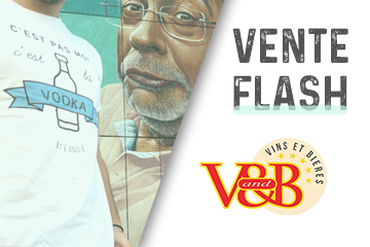 V and B Toulouse Reflets Compans - Vente flash V and B, craquez pour un tee shirt et portez nos couleurs