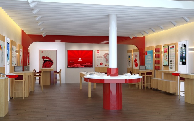 Vodafone Parque Comercial Nevada Shopping