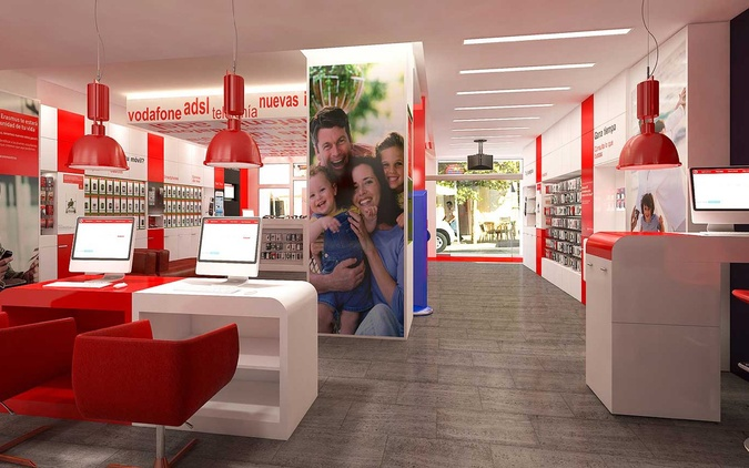 Vodafone  Media Markt Mar Mediterráneo