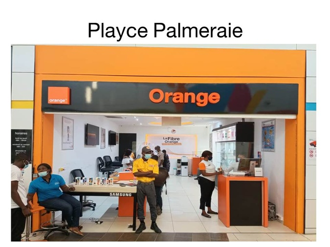 Agence Orange-Carrefour Palmeraie