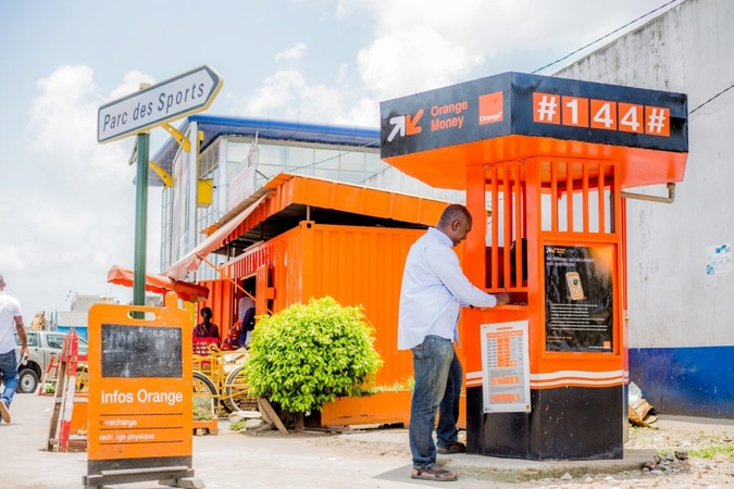 Guichet automatique Orange Money - Agence Orange Adjamé 220 Lgts