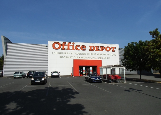 magasin office depot nantes st herblain fournitures mobiliers de bureau papeterie. Black Bedroom Furniture Sets. Home Design Ideas