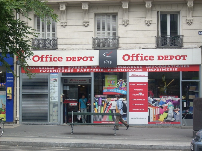 Office DEPOT Paris 10ème Magenta