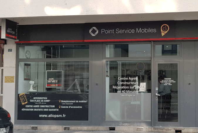 Point Service Mobiles Annemasse